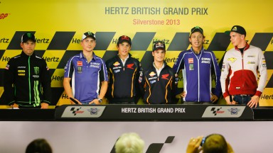 Hertz British Grand Prix Press Conf