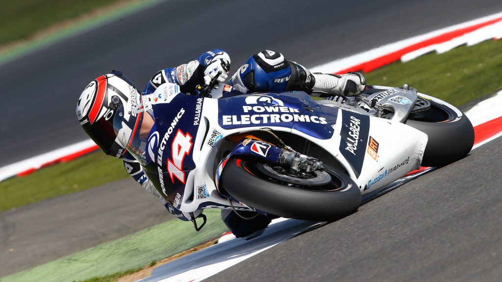 Randy de Puniet, Power Electronics Aspar, Silverstone FP2