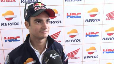Pedrosa: 'Perfect temperatures, very bumpy'