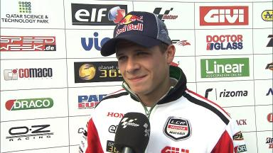 Lack of rear grip hindering Bradl