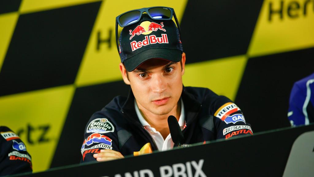 Pedrosa, Hertz British Grand Prix Press Conference