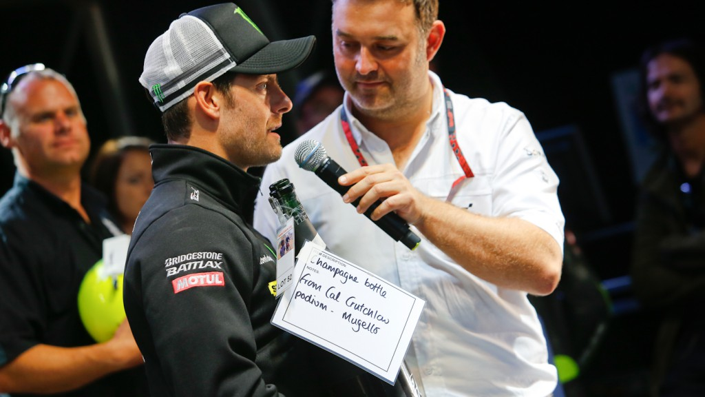 Cal Crutchlow, Day of Champions, Riders For Health, Silverstone