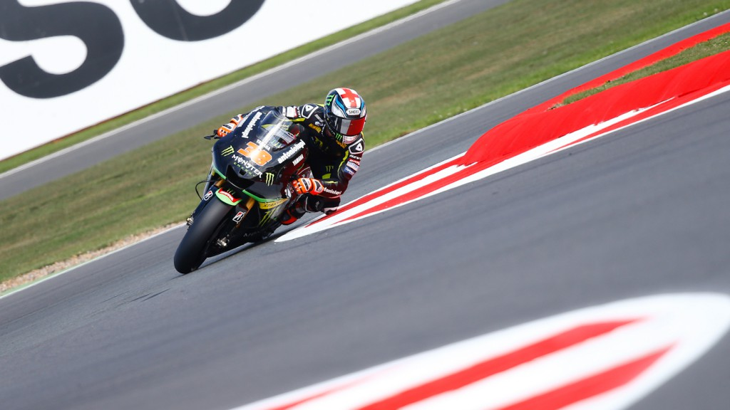 Bradley Smith, Monster Yamaha Tech 3, Silverstone FP2