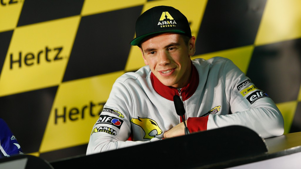 Redding, Hertz British Grand Prix Press Conference