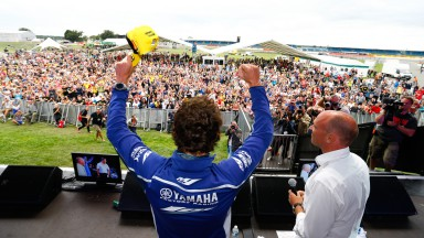 Valentino Rossi, Day of Champions, Riders For Health, Silverstone