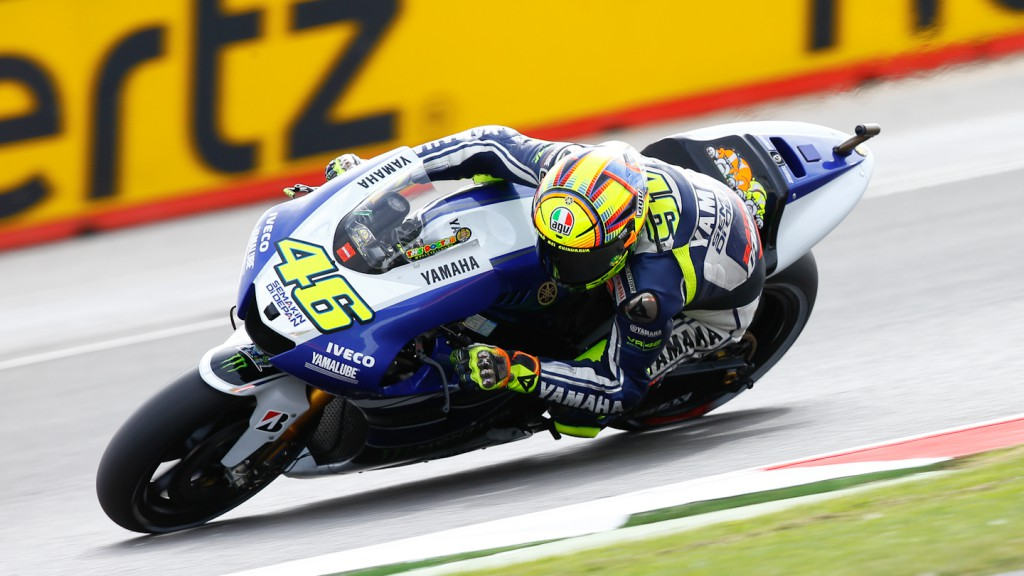 Valentino Rossi, Yamaha Factory Racing, Silverstone FP2