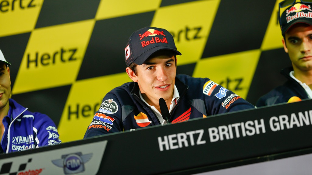 Marquez, Hertz British Grand Prix Press Conference