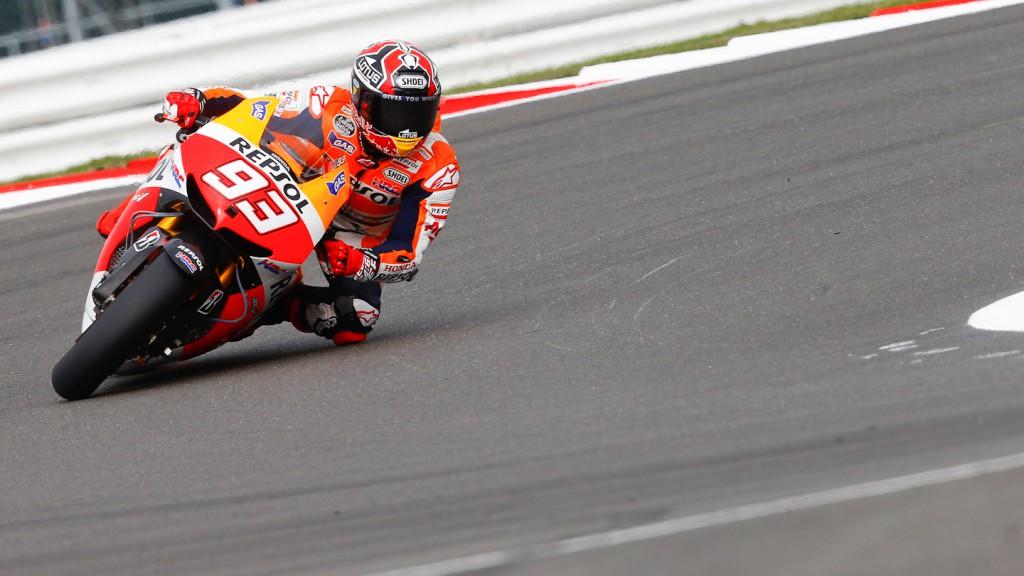 Marc Marquez, Repsol Honda Team, Silverstone FP2