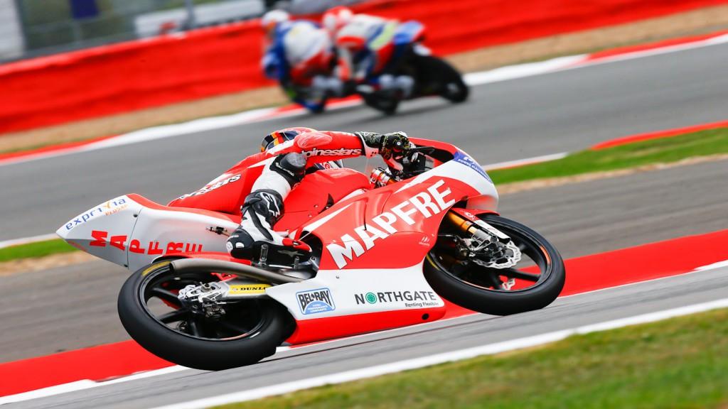 Jonas Folger, Mapfre Aspar Team Moto3, Silverstone FP2