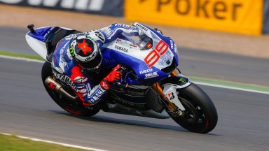 Jorge Lorenzo, Yamaha Factory Racing, Silverstone FP2