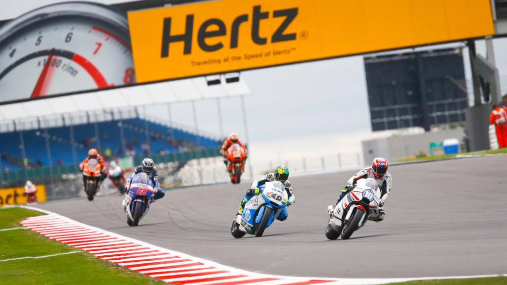 Moto2 Silverstone FP1