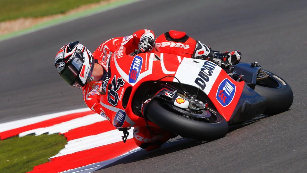 Andrea Dovizioso, Ducati Team, Silverstone Q2