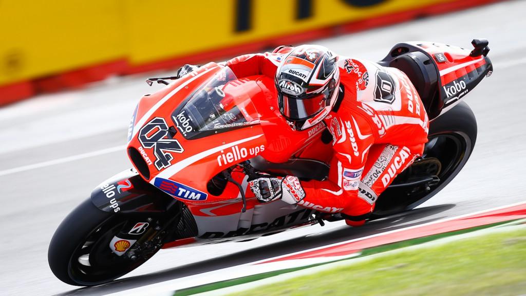 Andrea Dovizioso, Ducati Team, SIlverstone FP3