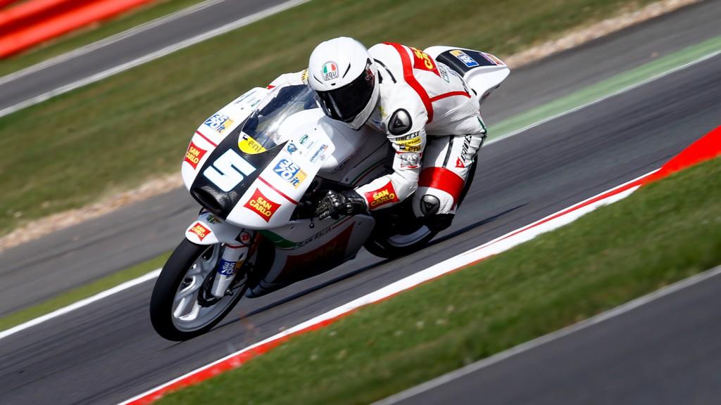 Romano Fenati, San Carlo Team Italia, Silverstone QP