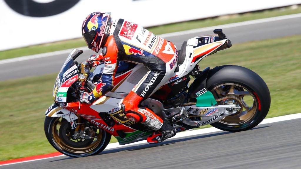 Stefan Bradl, LCR Honda MotoGP, Silverstone FP3