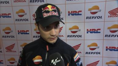 Pedrosa: 'I lost the front on the last lap'