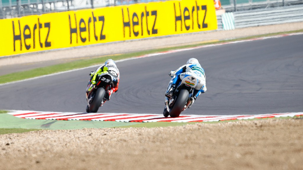 Moto2, Silverstone QP