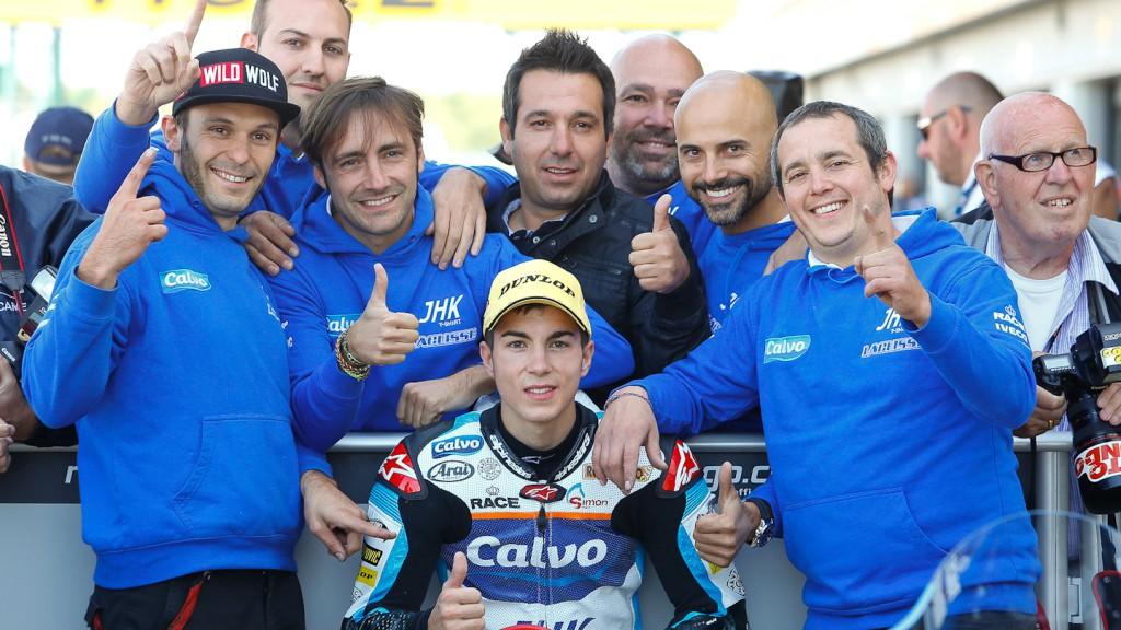 Maverick Viñales, Team Calvo, Silverstone QP