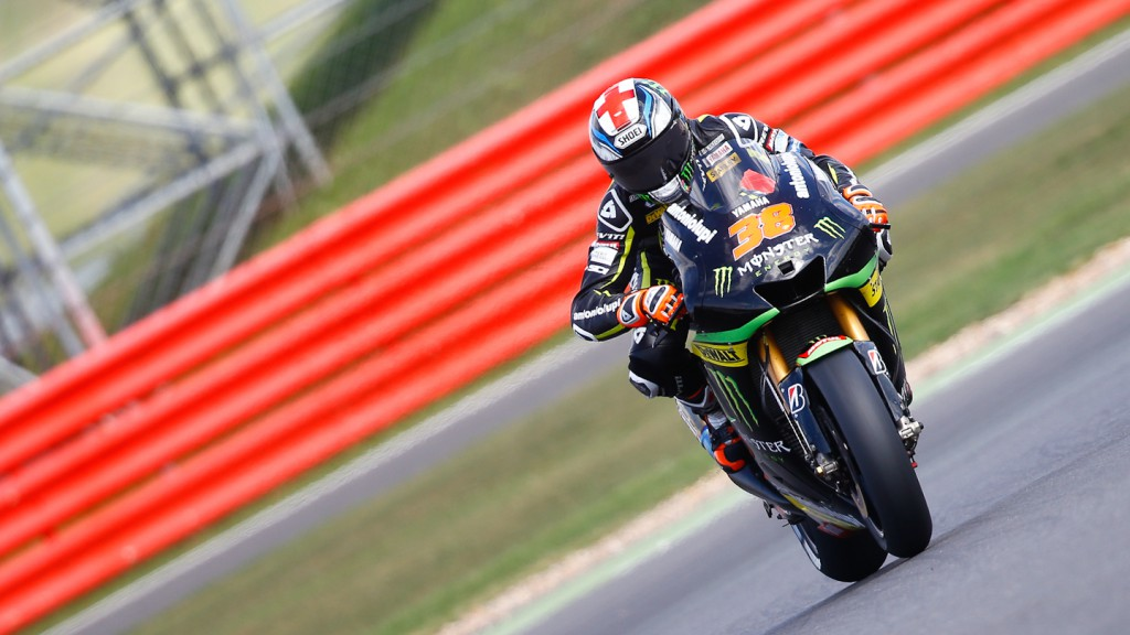 Bradley Smith, Monster Yamaha Tech 3, Silverstone Q2