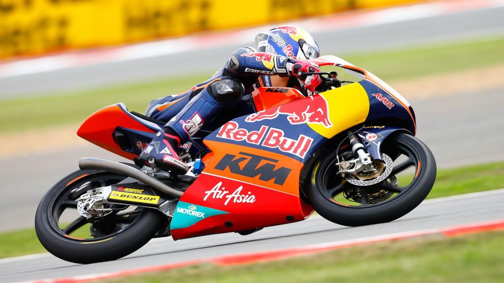 Luis Salom, Red Bull KTM Ajo, Silverstone QP
