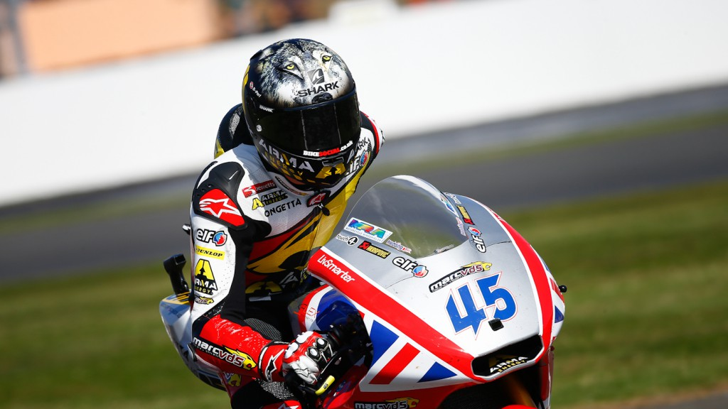 Scott Redding, Marc VDS Racing Team, Silverstone QP