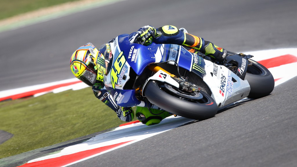 Valentino Rossi, Yamaha Factory Racing, Silverstone Q2