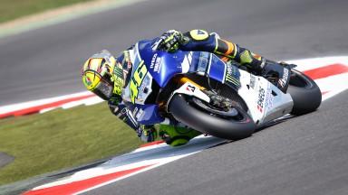Valentino Rossi, Yamaha Factory Racing, Silverstone Q2