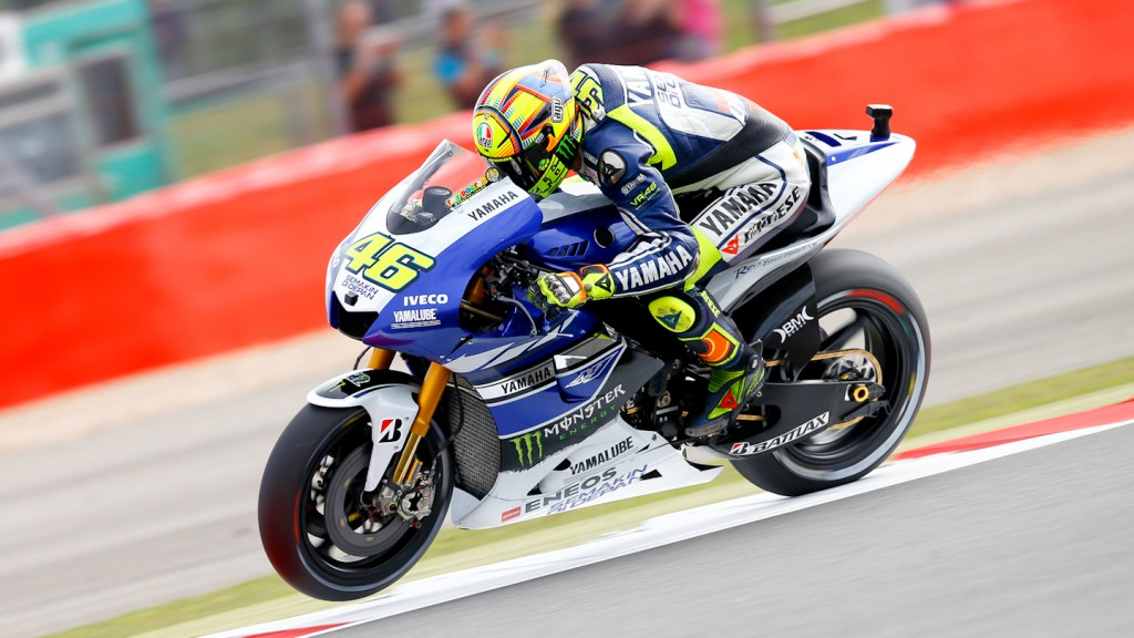 Valentino Rossi, Yamaha Factory Racing, Silverstone FP3