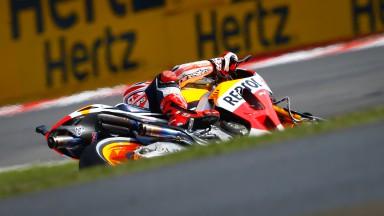 Marc Marquez, Repsol Honda Team, Silverstone Q2