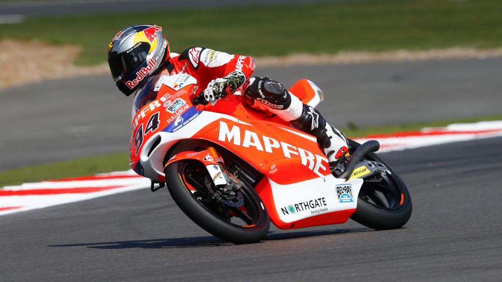 Jonas Folger, Mapfre Aspar Team Moto3, Silverstone FP3