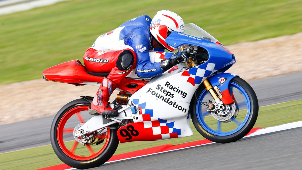 Wayme Ryan, Racing Steps Foundation KRP, Silverstone QP