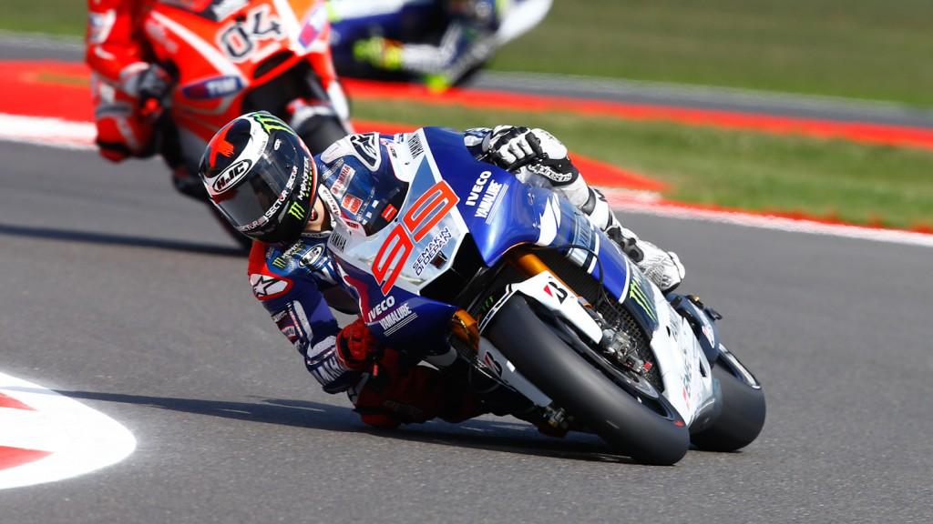 Jorge Lorenzo, Yamaha Factory Racing, Silverstone FP3