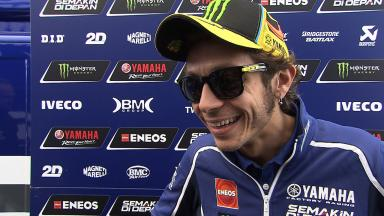 Fourth marks Rossi's best result at Silverstone