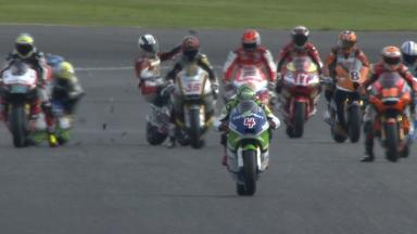 Silverstone 2013 - Moto2 - WUP - Action - Dani Rivas - Crash