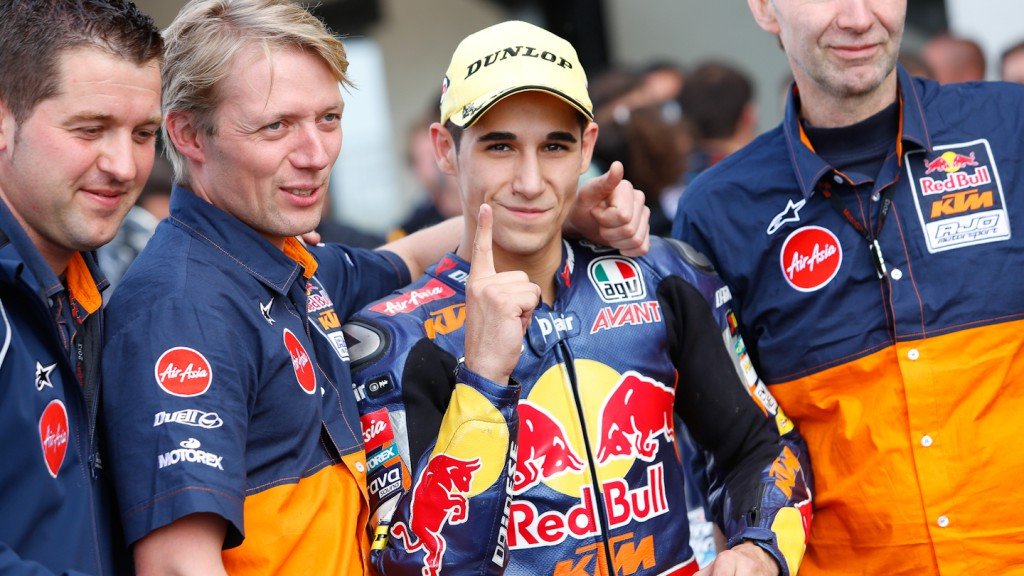 Luis Salom, Red Bull KTM Ajo, Silverstone RAC