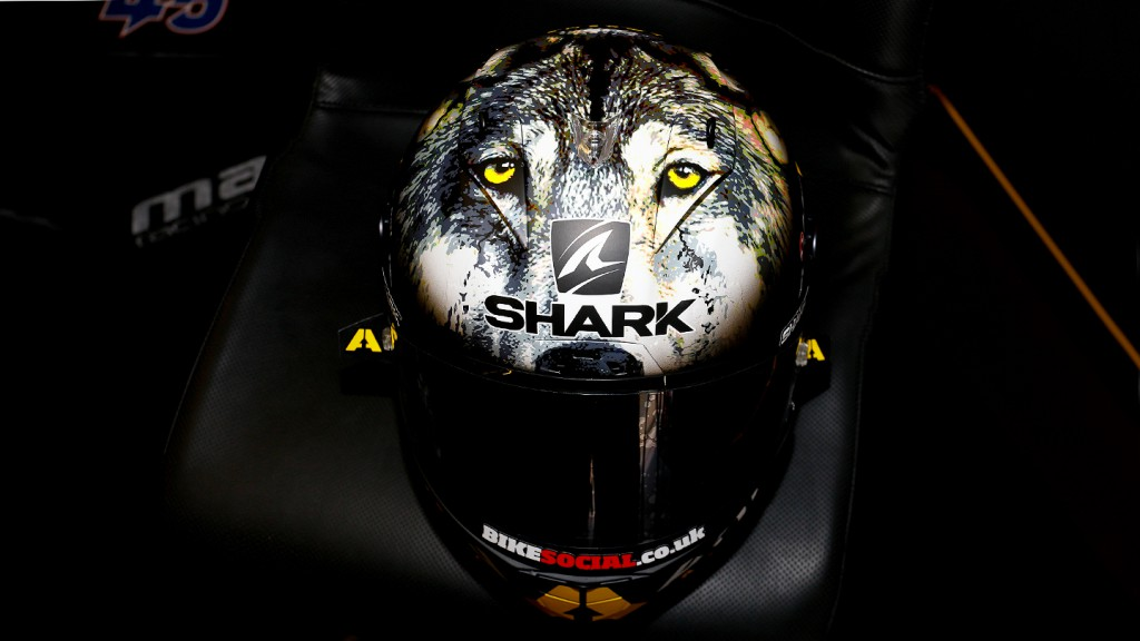 Scott Redding, Silverstone Helmet