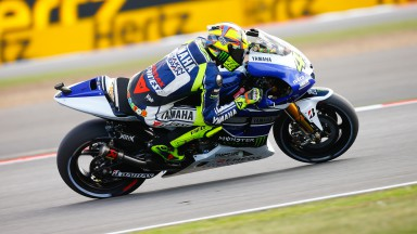 Valentino Rossi, Yamaha Factory Racing, Silverstone RAC
