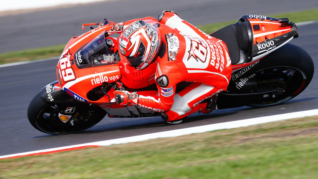 Nicky Hayden, Ducati Team, Silverstone WUP