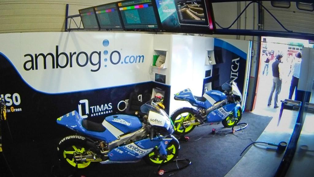 Ambrogio Racing garage
