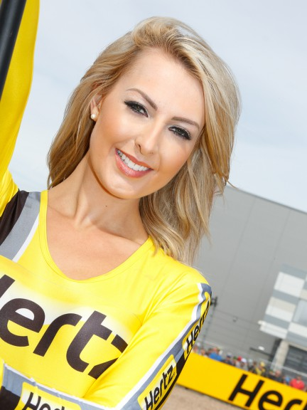 Paddock Girl, Hertz British Grand Prix