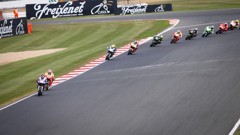 MotoGP Silverstone RAC