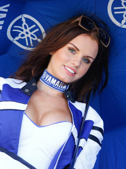 Paddock Girl, Hertz British Grand Prix
