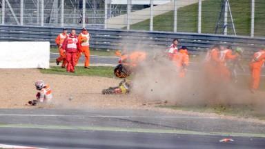 Marc Marquez, Repsol Honda Team, Silverstone RAC WUP © Gigi Soldano / Milagro