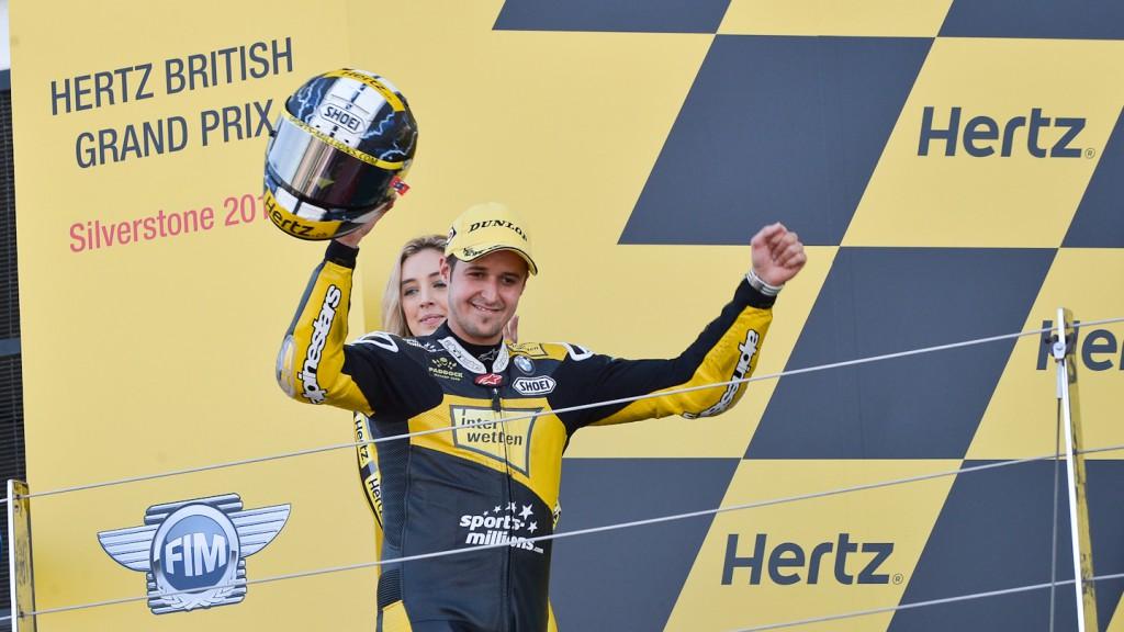 Thomas Luthi, Interwetten Paddock Moto2 Racing, Silverstone RAC