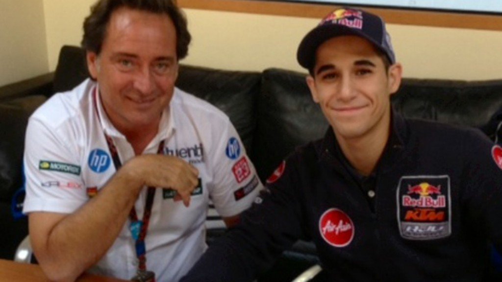 Sito Pons & Luis Salom sign 2014 Moto2 deal