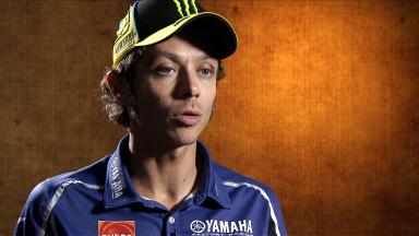 Feature interview with Valentino Rossi