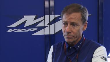 Yamaha/Tech3 renewal: Lin Jarvis