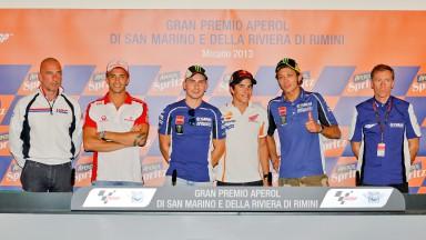 GP Aperol di San Marino e della Riviera di Rimini Press Conference