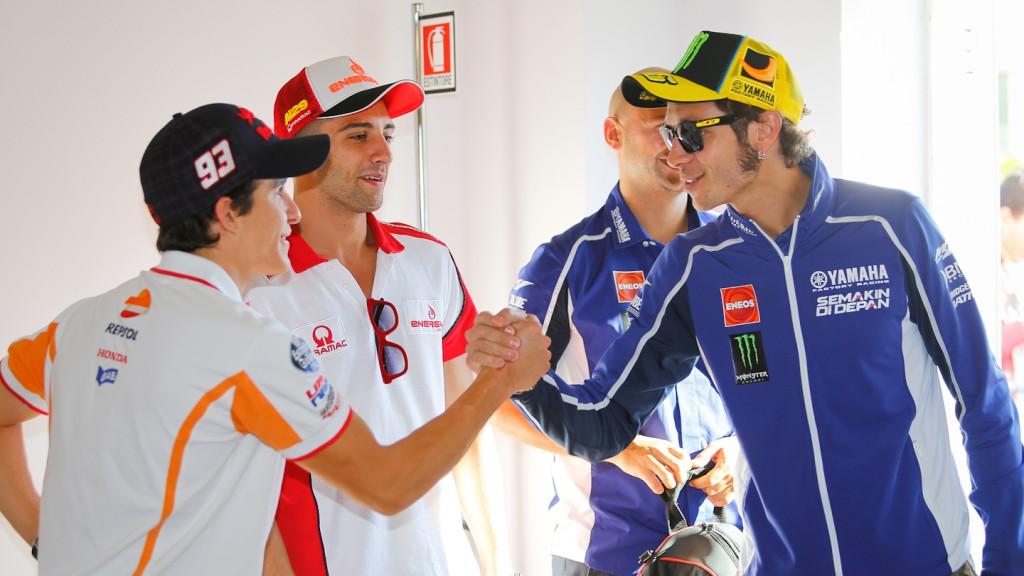 Marquez, Rossi, GP Aperol di San Marino e della Riviera di Rimini, Press Conference