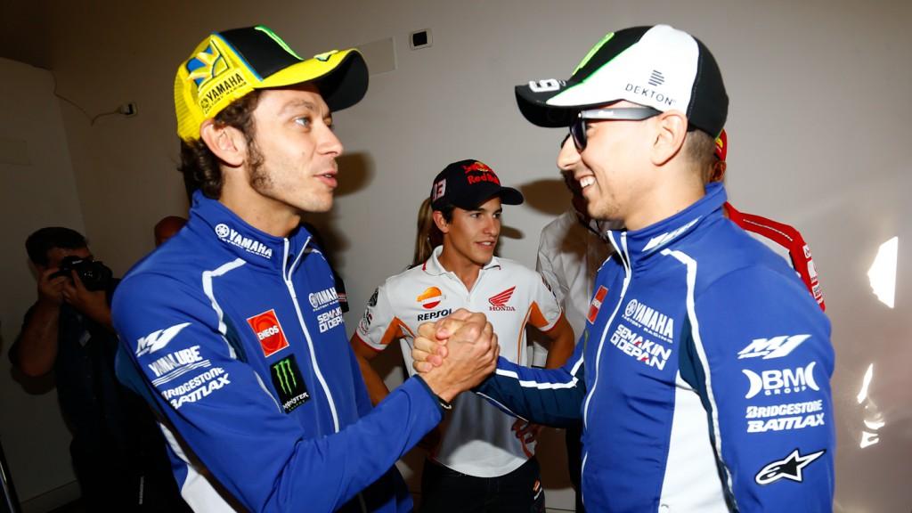 Rossi, Marquez, Lorenzo, GP Aperol di San Marino e della Riviera di Rimini, Press Conference